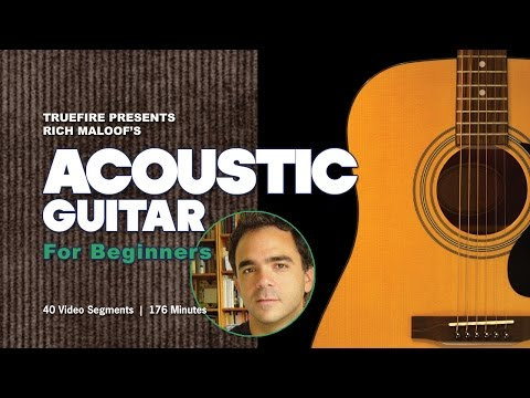 How To Play Acoustic Guitar - Lessons For Beginners - Introduction