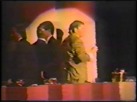 President Reagan Attacked at NAB Convention Las Vegas April 1992 480p