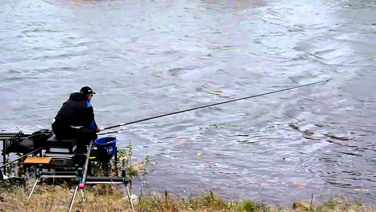 Alan scotthorne fishing the shimano cup 2010 in silokanal for Fishing license for disabled person