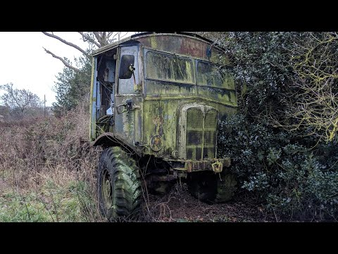 Rusty Vintage Vehicles Found in the United Kingdom