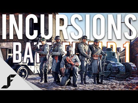 BATTLEFIELD 1 INCURSIONS - Gameplay + Impressions