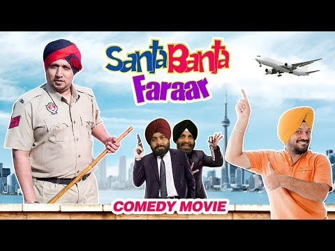 Santa Banta Farar (Full Movie) - Gurpreet Ghuggi | New Punjabi Comedy Movie 2017  | Shemaroo Punjabi