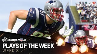 Madden 19 - Plays of the Week 8