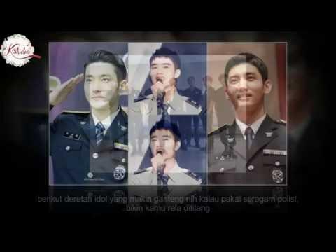 WOW ! Ini 15 Idol Korea Ganteng Berseragam Polisi yang Bisa Bikin Cewek Semaput