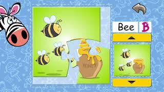 برنامج تعليم الحروف الانجليزية للاطفال Alphabet Puzzles for Kids learn and Play