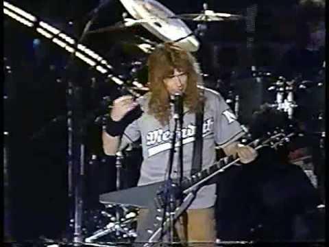 MEGADETH Symphony of Destruction Live at Soyo Rock Festival Korea (July 28, 2001)