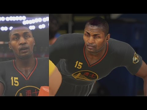 NBA 2K15 PS4 My Team - Onyx Ron Artest!