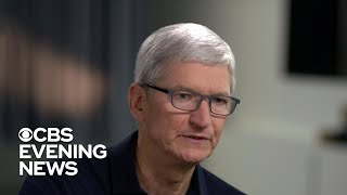 "Tim Cook says Apple is ""moving privacy protections forward"""