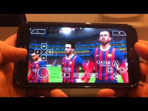 PES 2014 on Android Part 2 [PPSSPP 0.9.6 PSP Emulator]
