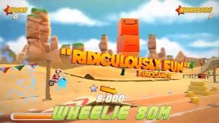 Joe Danger - game đua xe địa hình vui nhộn cho Android/iOS miễn phí