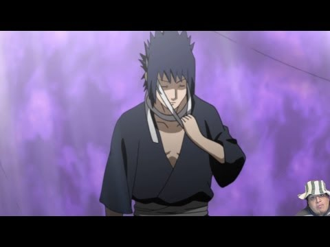 Naruto Shippuden Episode 326 Review -- Sasuke EMS Eyes = Naruto Vs Sasuke Epicness -ナルト- 疾風伝