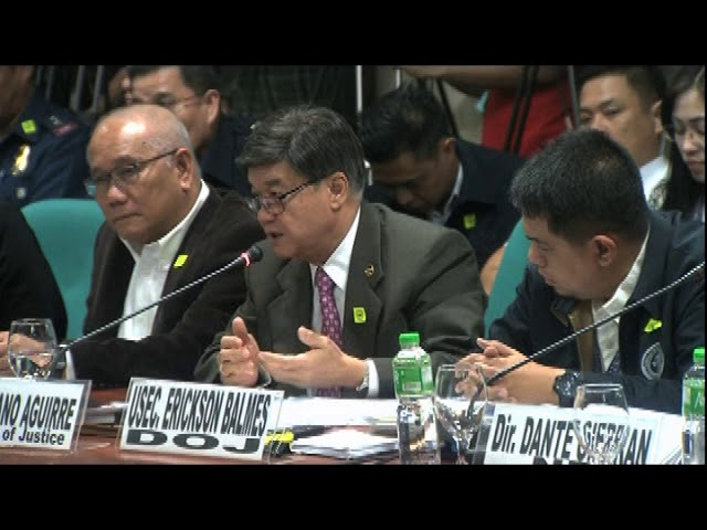 Aguirre: Witnesses in Kian slay may have been 'brainwashed'
