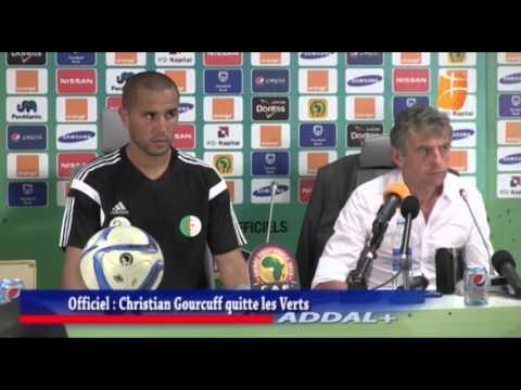 Christian Gourcuff quitte son poste de sélectionneur de l'Algérie