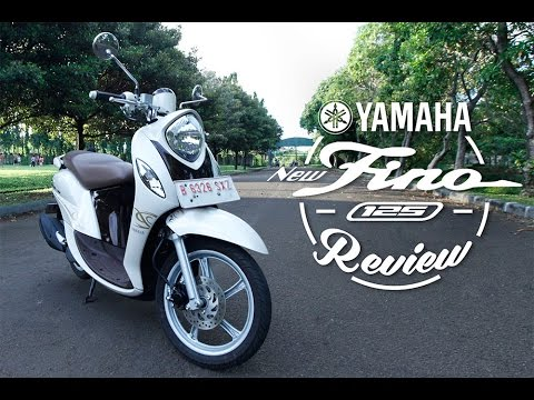 Yamaha New Fino 125 Blue Core 2016 Test Ride Review Indonesia - OtoRider