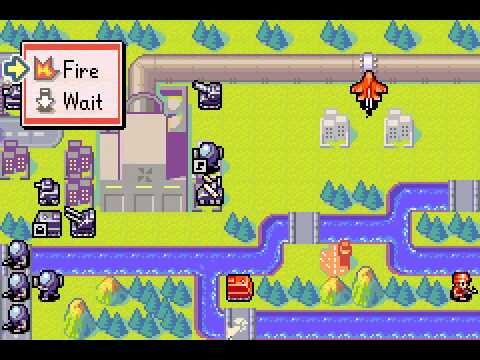 Advance Wars 2 - Black Hole Rising - Advance Wars 2 Mission 8: Liberation - User video