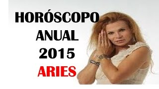 Mhoni Vidente Horoscopos 2015 - ARIES