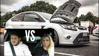 QUICKEST 0-60 FORD FOCUS RS | Battle!