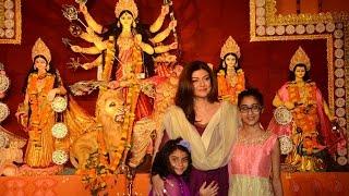 Sushmita Sen celebrates 'Durga Puja' with daughters Renee, Alisah