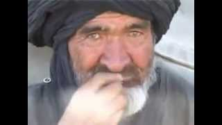 An Afghan is eating snikes