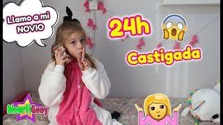 24 HORAS CASTIGADA EN MI NUEVA HABITACIÓN! LLAMO A MI NOVIO POR TELEFONO MI MADRE SE ENFADA MUCHO