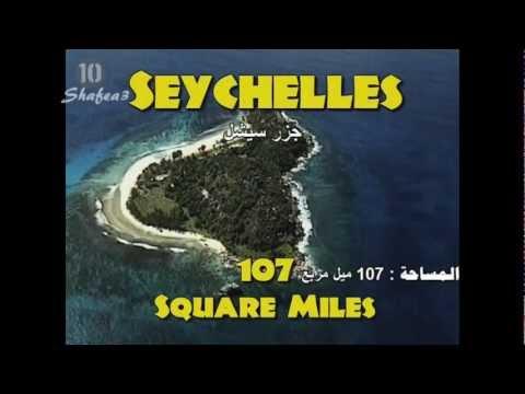 اصغر 10 دول في العالم