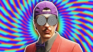 THIS WILL HYPNOTISE YOU! (GTA 5 Funny Moments)
