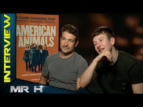 AMERICAN ANIMALS - Interviewing Writer/Director Bart Layton & Barry Keoghan