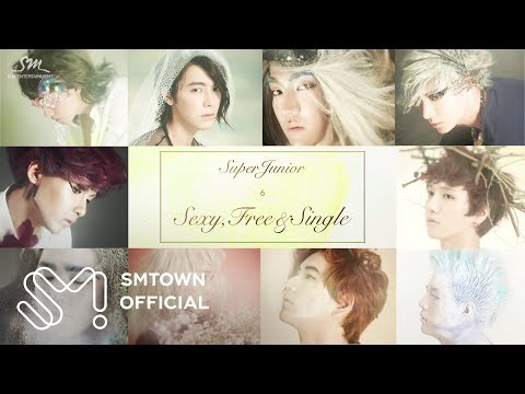 Super Junior the 6th Album 'sexy, Free & Single' highlight Medley video