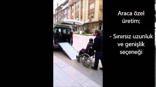 Engelli Araç Rampası, Vehicle Wheelchair Ramp