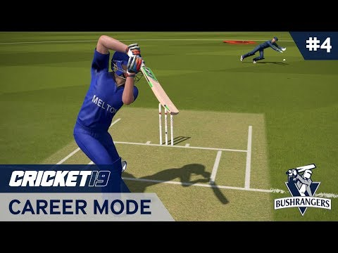 CRICKET 19 | CAREER MODE #4 | PLAYER OF THE MATCH!