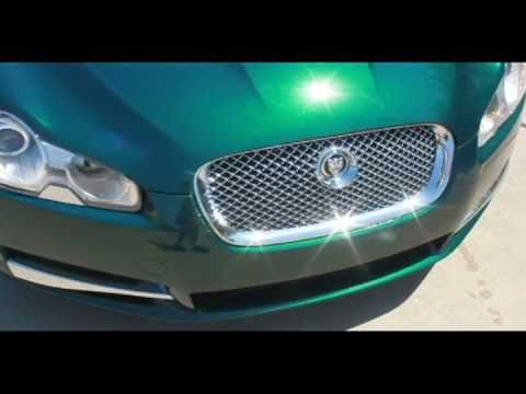 Jaguar Emerald Fire 2009 Jaguar xf Emerald Fire