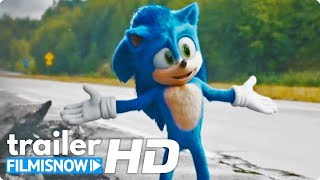 SONIC - IL FILM (2020) | Nuovo Trailer ITA con Jim Carrey