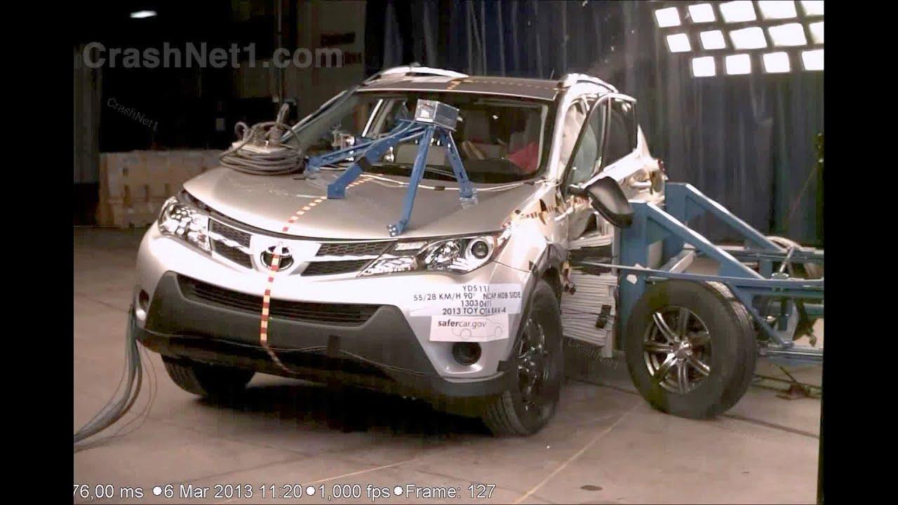 2013 Toyota Rav4 Side Crash Test By Nhtsa Crashnet1