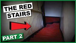 I Went Down The 13 Red Steps... | Haunted House (Part 2)