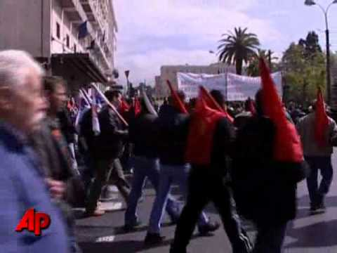 Greek Riots, Protests, Strikes Over Fiscal Plan