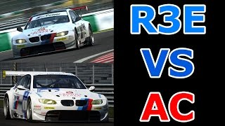 Assetto Corsa VS Raceroom Racing Experience.