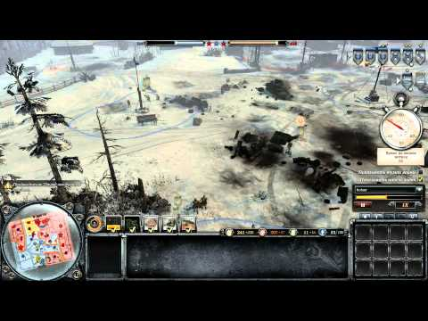 Company of Heroes 2  эпик бой / Company of Heroes 2  epic battle ))))