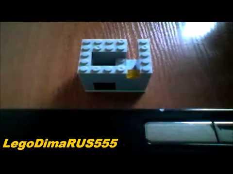 Видео как сделать из лего конфетный аппарат