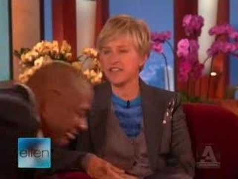 Forest Whitaker on Ellen