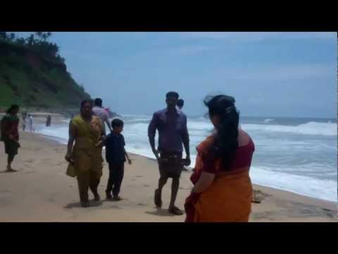 Varkala Beach:destroyer Of Sin(papanasam) : Dr.k.o.paulose Frcs video