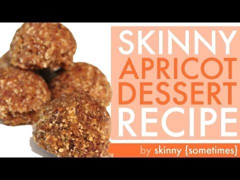 Skinny RAW VEGAN Apricot Dessert Recipe #blissedin – BEXLIFE