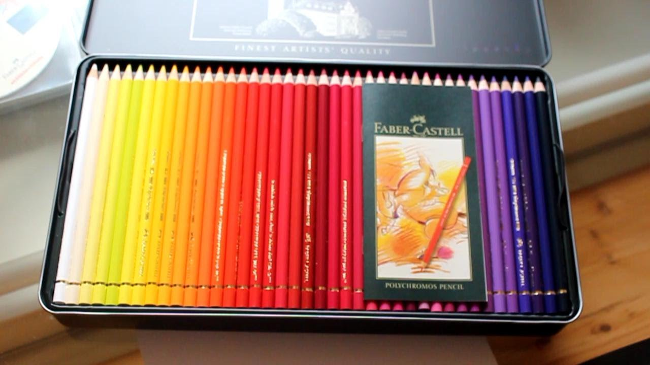 unboxing buntstifte faber castell polychromos youtube. Black Bedroom Furniture Sets. Home Design Ideas
