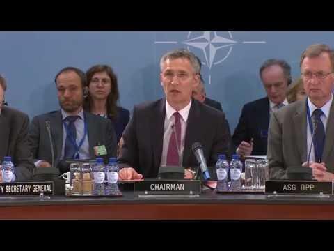 North Atlantic Council meeting at Defence Ministers Meeting, 15 JUN 2016