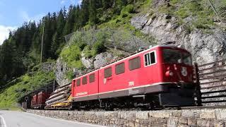 Zug um Zug 2017 Teil 1 - Betriebsalltag bei der RhB