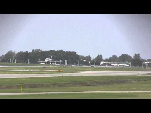 PLANESPOTTING, US Airways CRJ-200 landing ROC