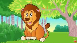 Tiếng kêu con hổ con sư tử báo sóc rắn voi  em học đọc tên các loài động vật  Dạy trẻ thông minh sớm
