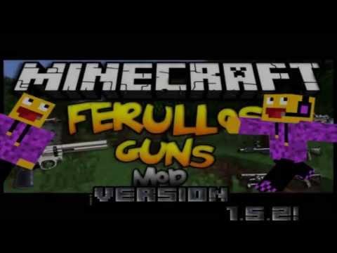 Mod de Armas Minecraft 1.5.2 - Review e Instalación - Español