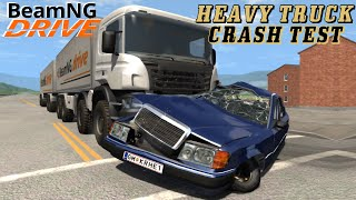 BeamNG DRIVE crash test mod 8x8 Heavy utility truck