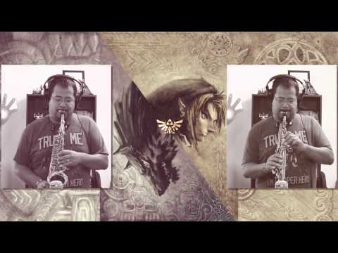 Midna's Lament (from zelda: Twilight Princess) Soprano And Alto Sax Game Cover video