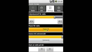 Android app: Radio Sverige (gratisapp och betalapp)